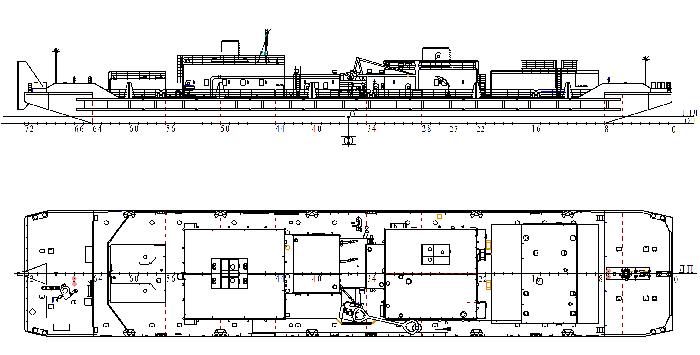 Плавучая станция для перекачки нефтепродуктов и зачистки нефтеналивных судов (пр.5385)