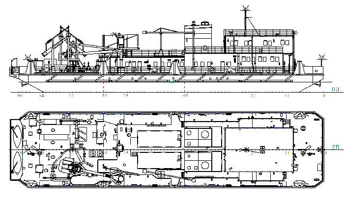 Автономная станция по перекачке вязких нефтепродуктов пр. 81321