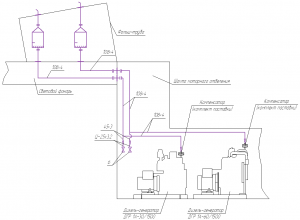 Система газовыпуска