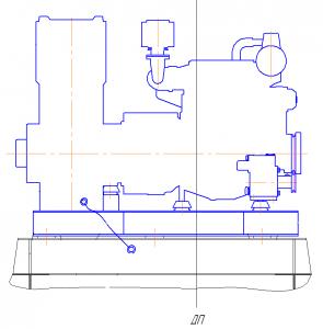 Установка дизель-генератора