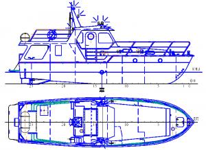 Прогулочный катер «Арго» пр.5517