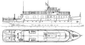 Разъездное судно пр.839А/178Н