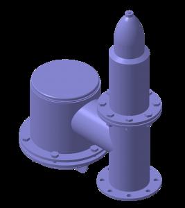 Клапан дыхательный судовой